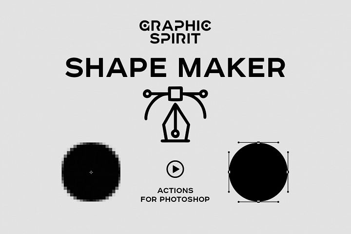 Path & Shape Maker for Photoshop example 1