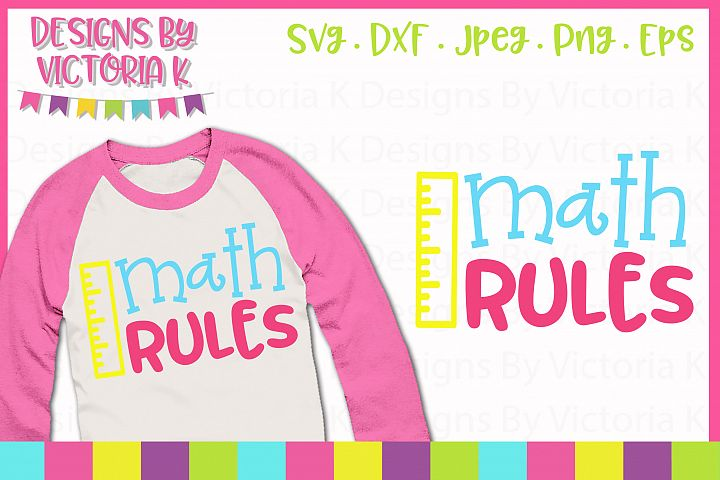 Math Rules, School svg, SVG, DXF, EPS, PNG