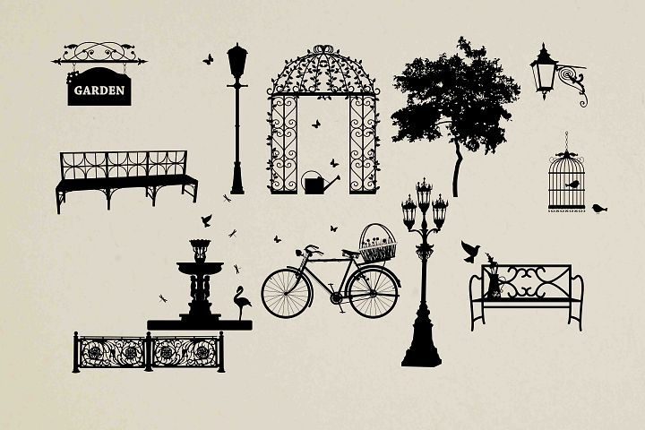 Street Silhouette SVG DXF EPS PNG AI