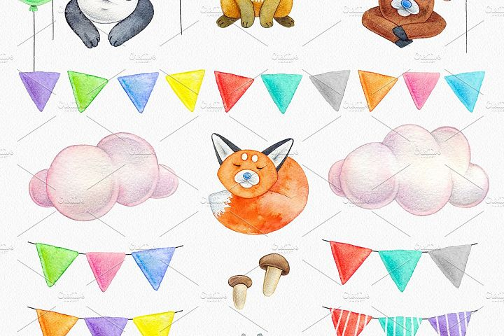 CUTE ANIMALS collection BABY SHOWER example 3