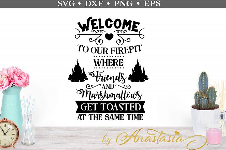 Welcome to our Firepit SVG cut file