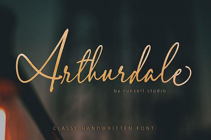 Arthurdale Script
