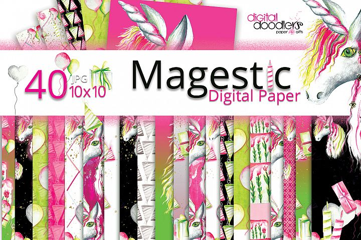 Magestic Digital Party Paper
