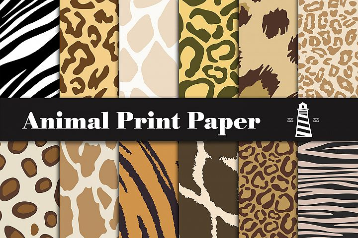 Animal Print Papers