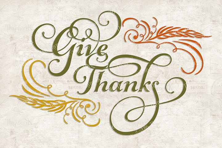 Give Thanks Digital Design