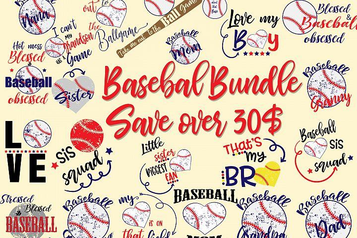 Baseball Bundle Svg