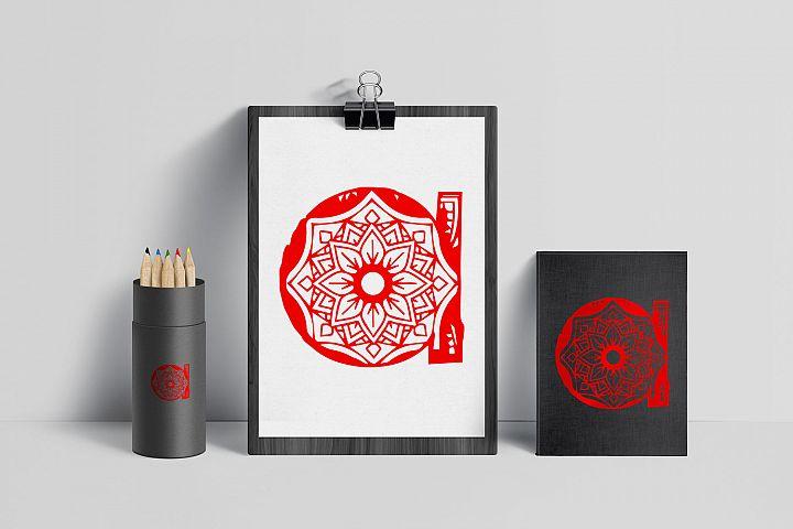 Wonderful Mandala Alphabet