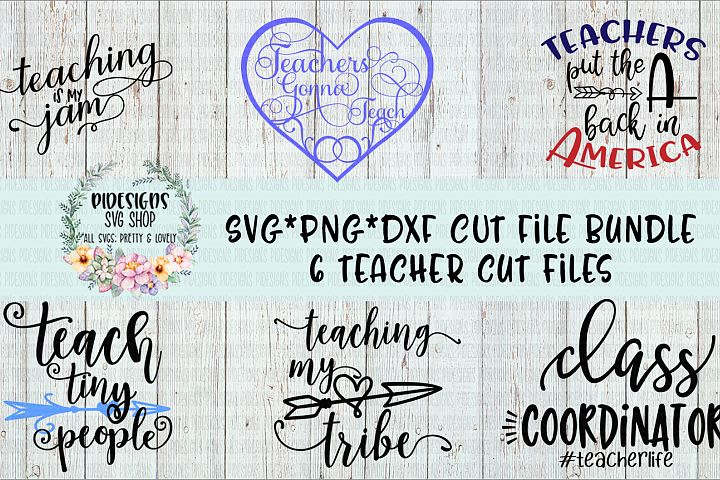 Teacher Bundle SVG*PNG*DXF Digital Download