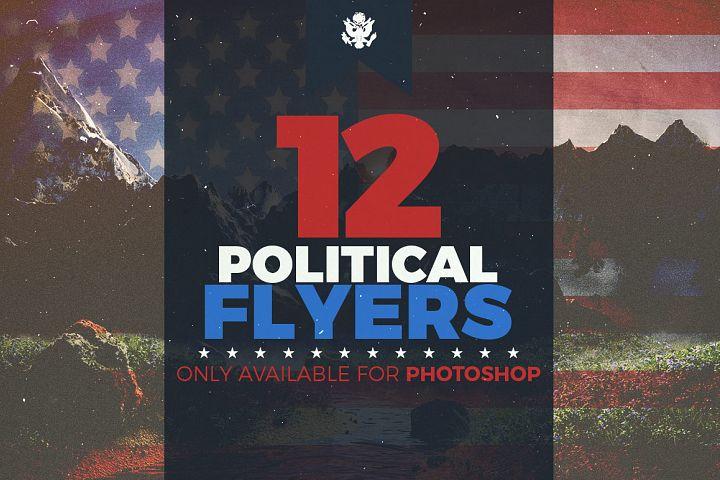 Ultimate Political Flyer Bundle Photoshop Templates