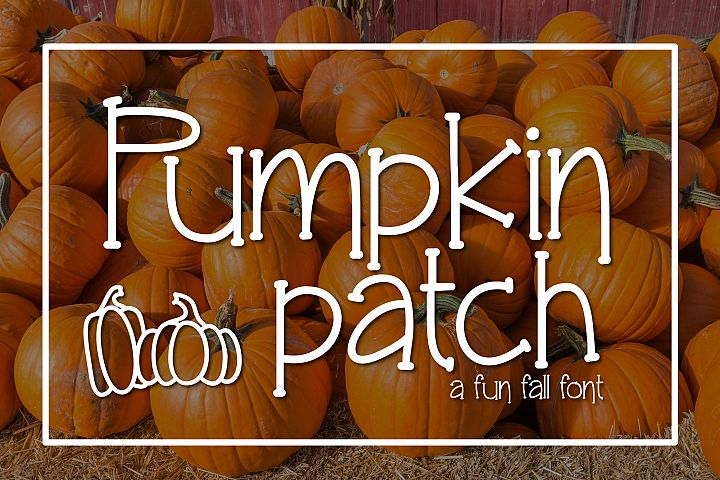 Pumpkin Patch a Fun Serif Font
