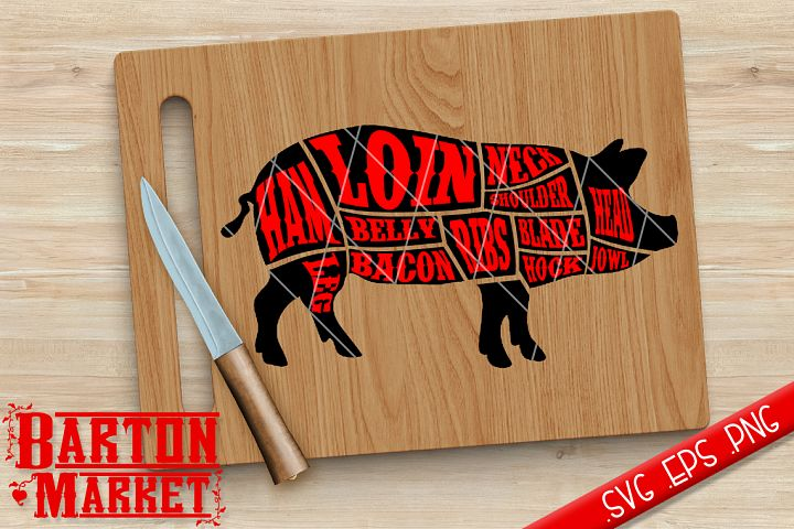 Pig Butcher SVG / EPS / PNG
