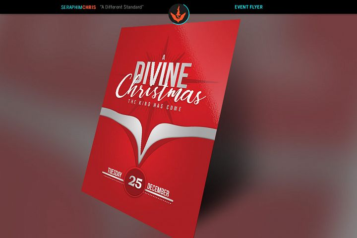 A Divine Christmas Flyer Template
