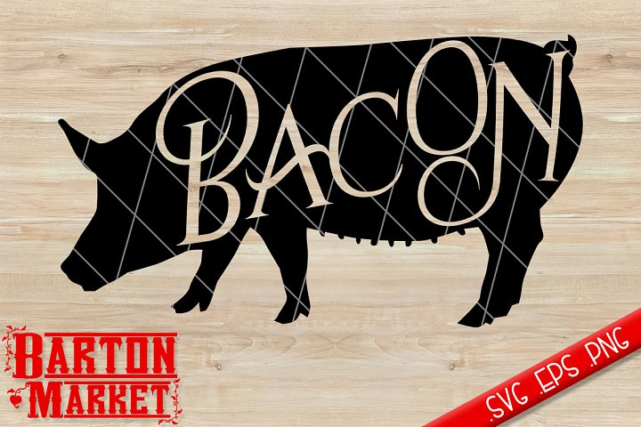 Bacon SVG / EPS / PNG