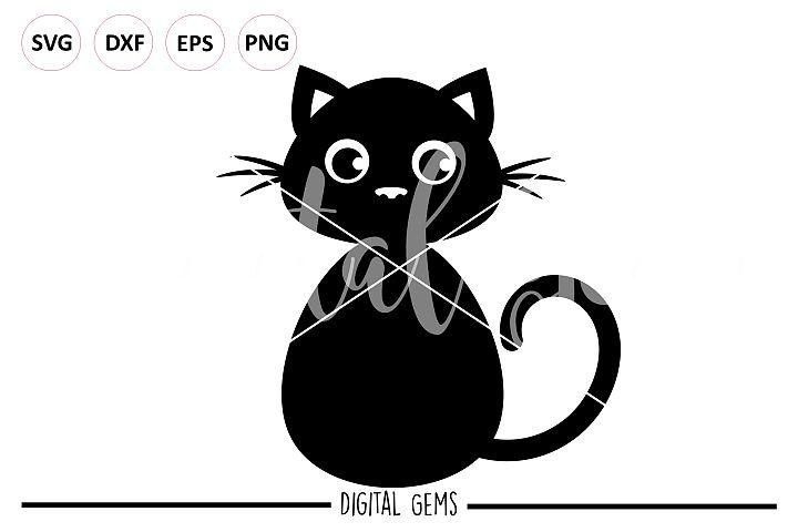 Black Cat SVG / PNG / EPS / DXF files