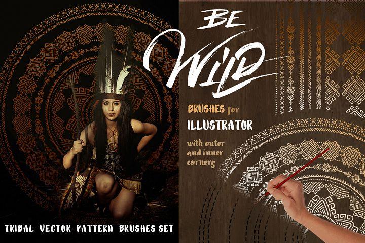 Be Wild! Brushes for Illustrator