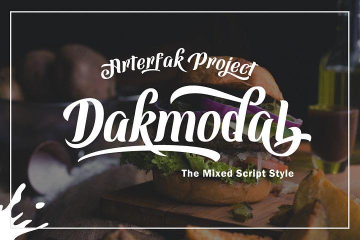 Dakmodal Typeface