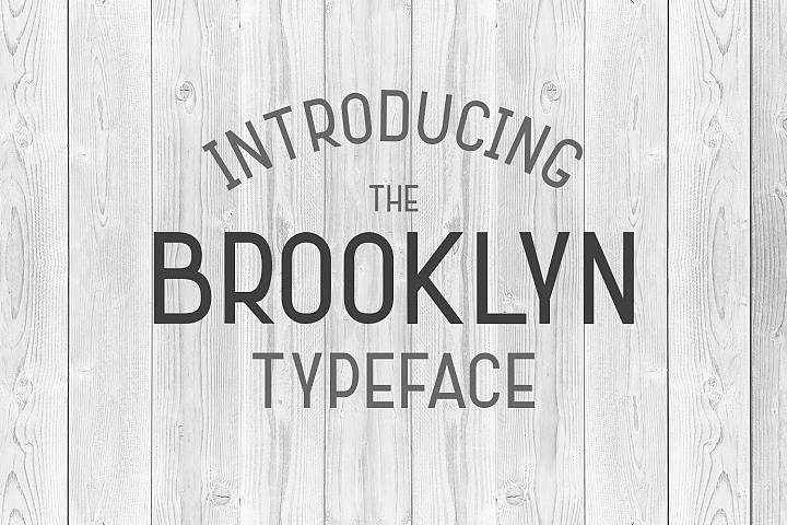 Brooklyn Typeface