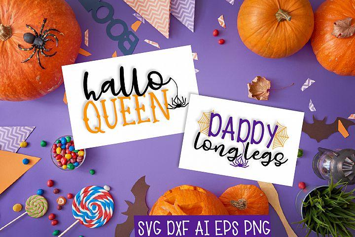 Hallo Queen & Daddy Long Legs Duo