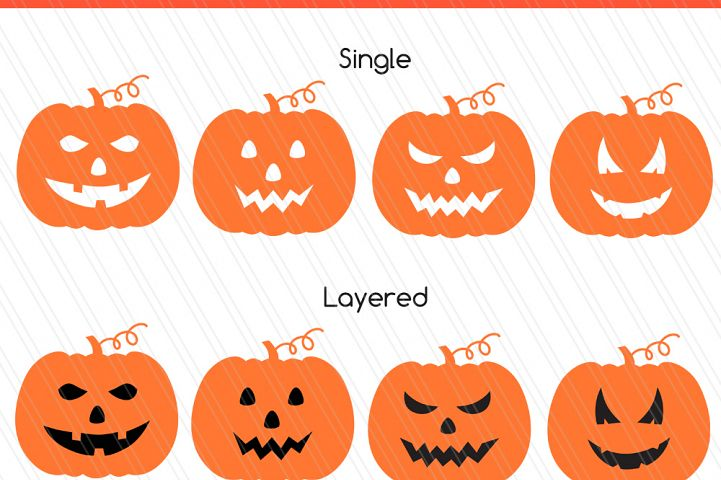 Pumpkin  Monogram svg/dxf cutting files