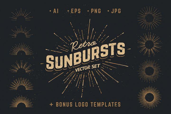Retro Sunbursts