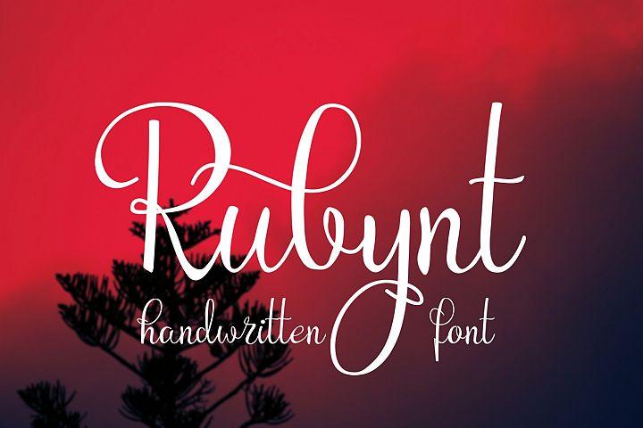 Rubynt Font