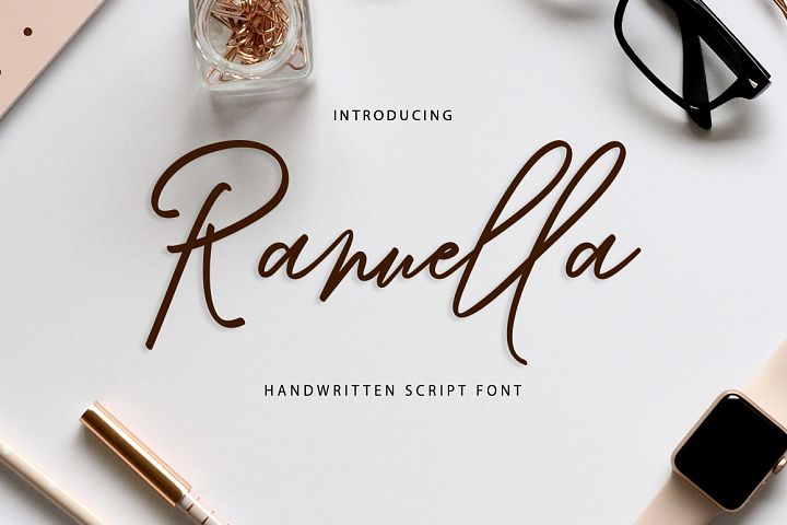Ranuella Script | Discounts 50% all product