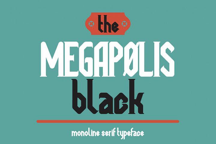 Megapolis black