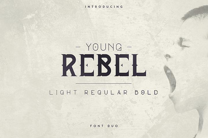 Young Rebel Font Duo