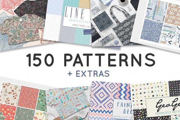 Pattern Bundle - Seamless Patterns - Digital Paper