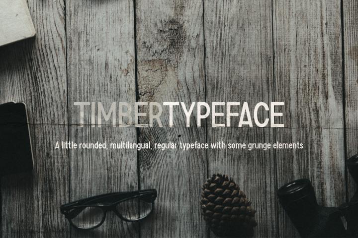 Timber Typeface
