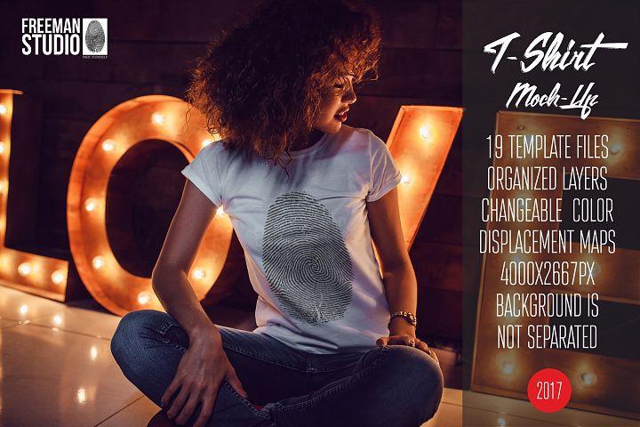 T-Shirt Mock-Up Vol.15 2017
