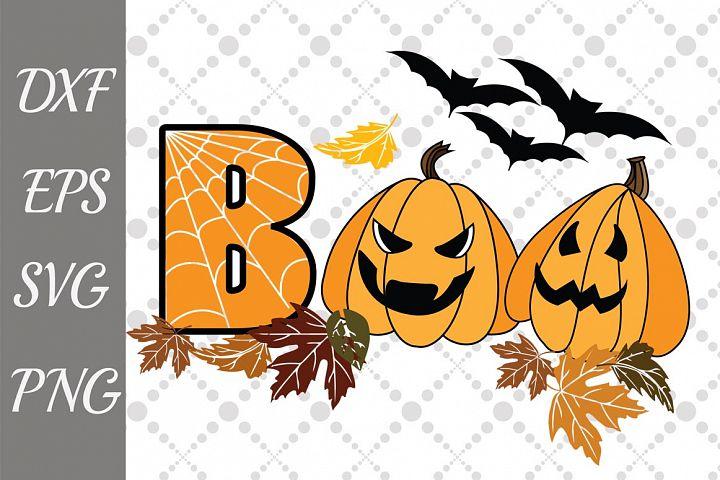 Boo Svg, HALLOWEEN SVG, Pumpkin Svg,Bet Svg
