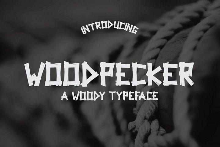 Woodpecker Typeface