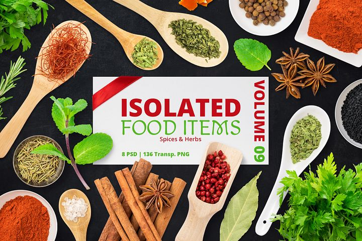 Isolated Food Items Vol.9