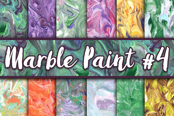 Marble Paint Textures - Set 4