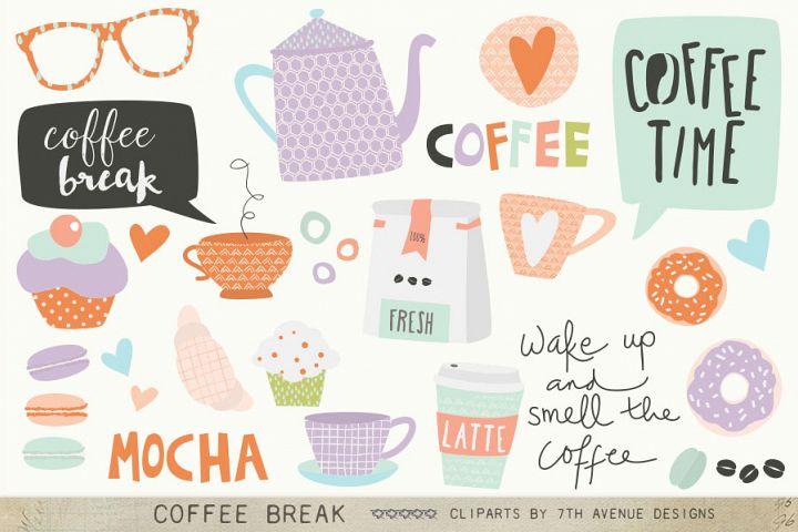 Coffee Break Cliparts