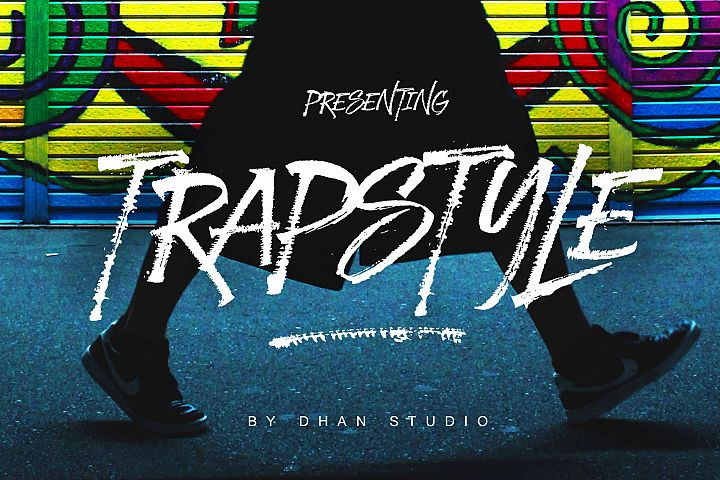 Trapstyle - Ruling Pen Font