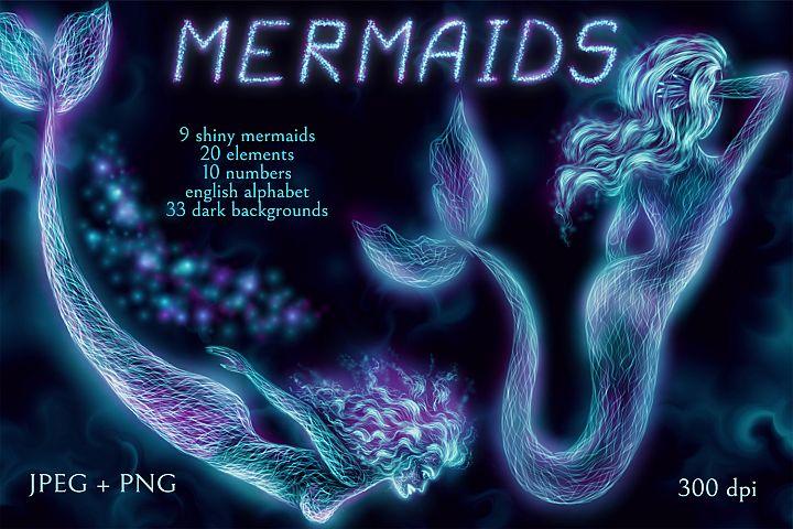 Shiny Mermaids