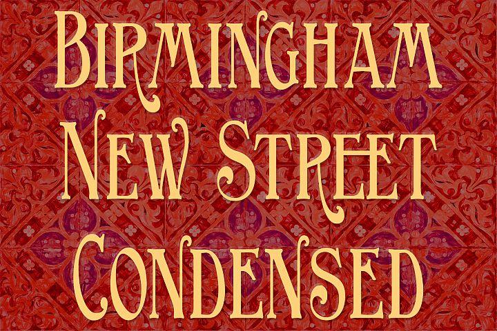 Birmingham New Street Condensed