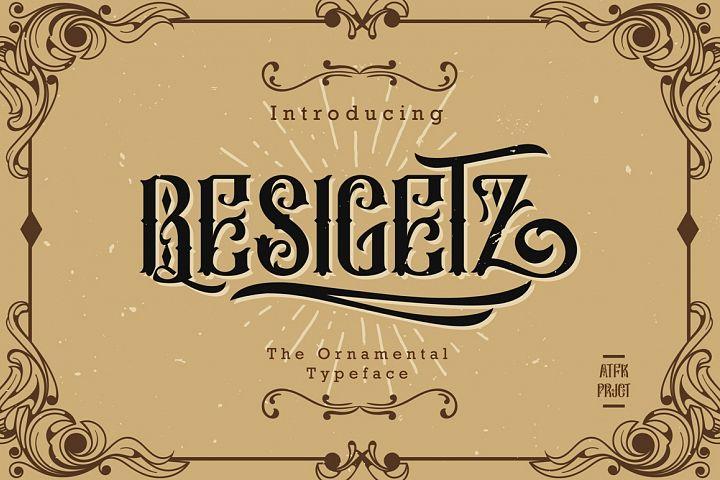 Besigetz Typeface