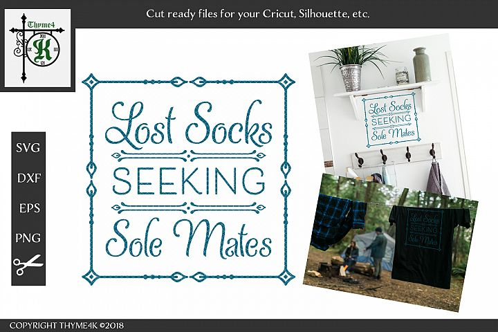 Lost Socks Seeking Sole Mates Digital Design