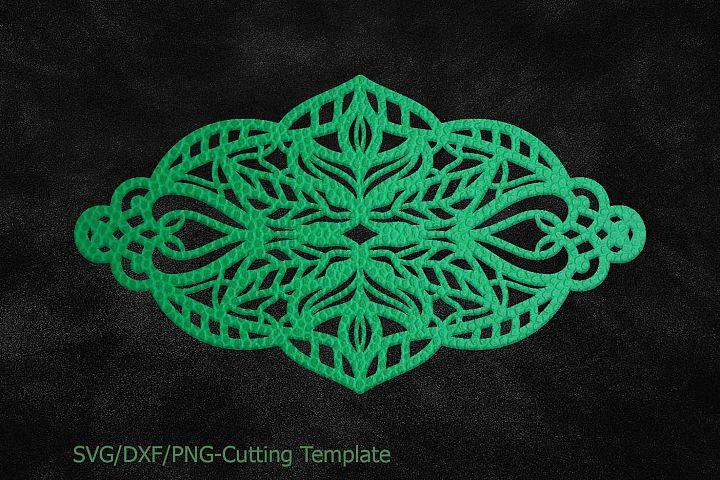 Cuff Bracelet, Leather Jewelry Templates, lace floral, svg dxf png, Cut Files, Cuttable Download, Laser Cutting template, Cricut Silhouette