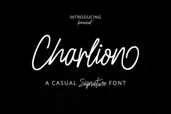 Charlion Script 2 Style