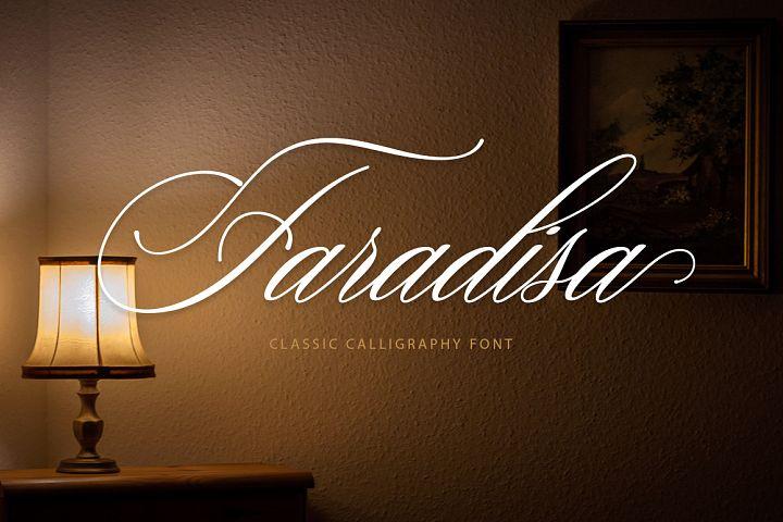 Faradisa Script