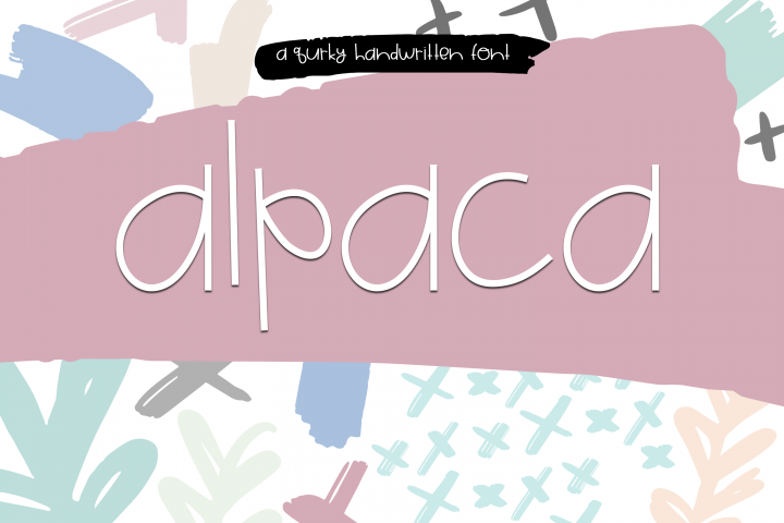 Alpaca My Lunch - Fun and Quirky Font