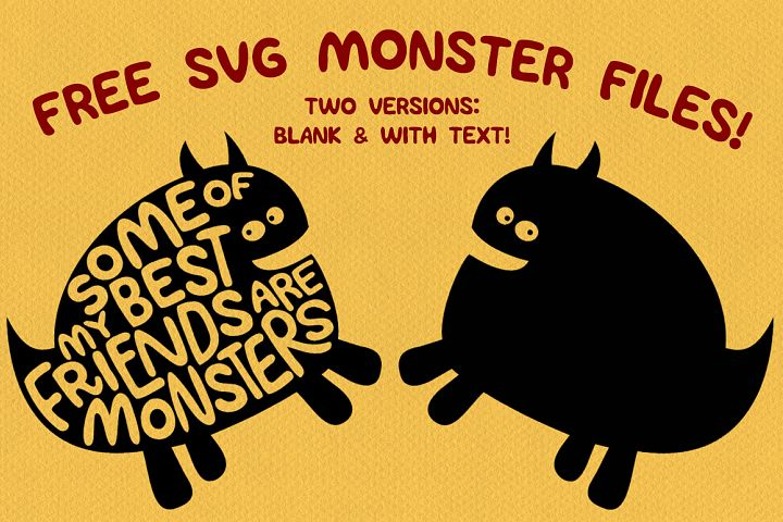 Monster SVGs example 1