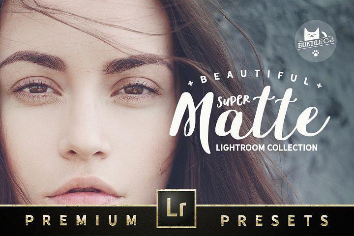 Super Matte Lightroom Collection