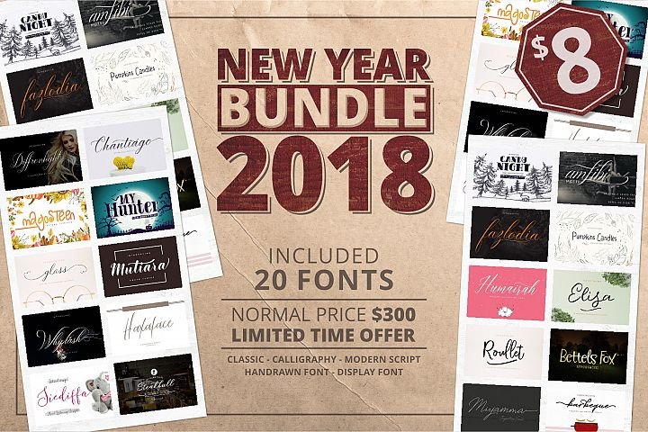 2018 New Bundle! Save 99% off the RRP