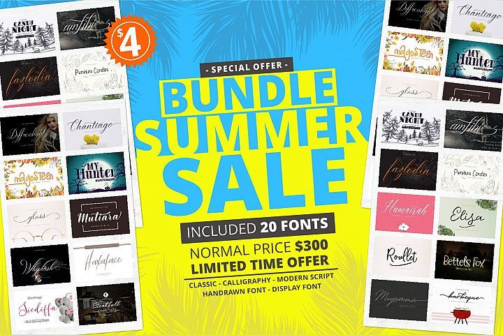 Bundle Summer Sale! Save 99% off the RRP