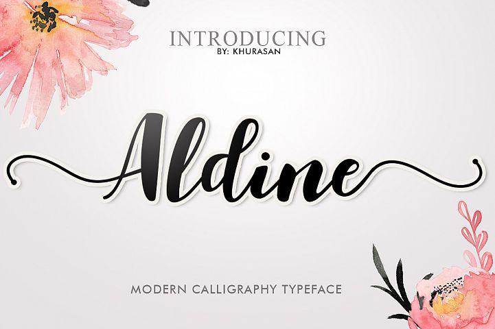 Aldine Script